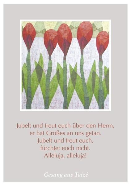 """Postkarte """"Jubelt und freut euch"""""""