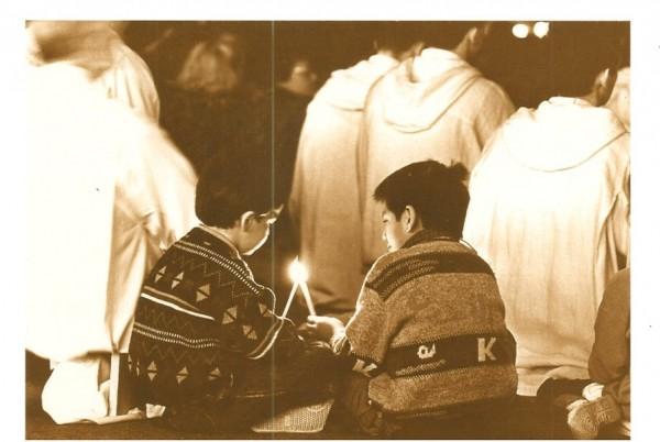 Kinder beim Gebet