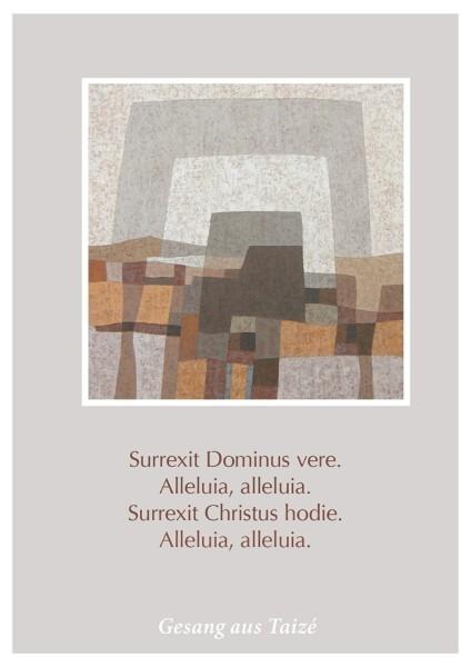 """Postkarte """"Surrexit Dominus vere"""""""