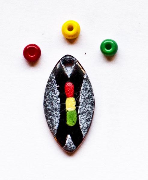 afrikanisches Schild - klein