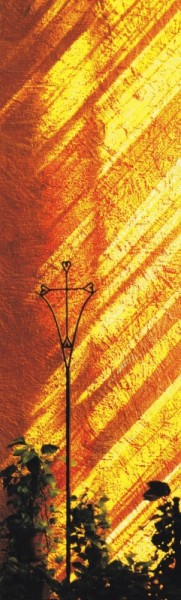 Lesezeichen - Herzkreuz 5