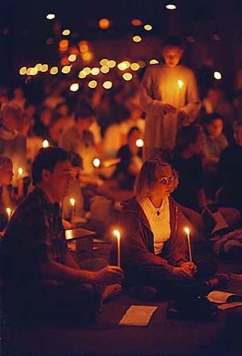 orthodoxe Gebetskerzen aus Paraphin (deutsche Herstellung)