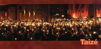 Lichter bei der Auferstehungsfeier 1