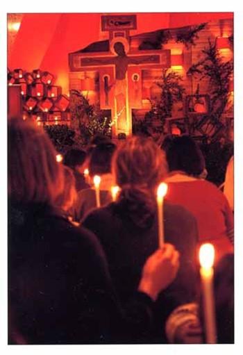 Gebet vor dem Kreuz 2