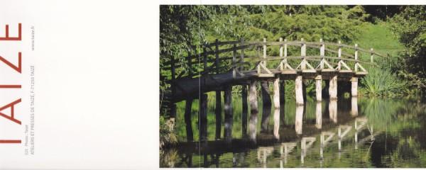 Brücke über See / Quelle