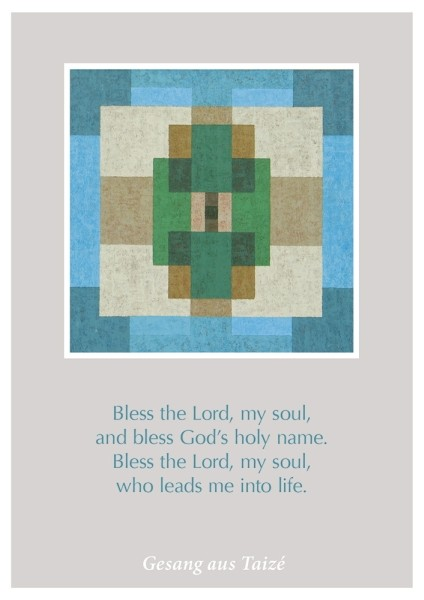 "Postkarte ""Bless the Lord"""