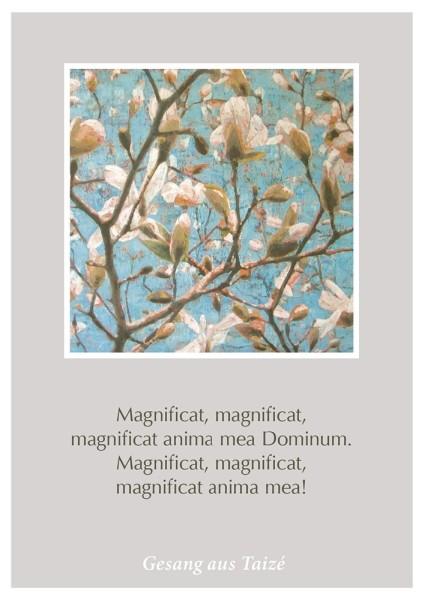 """Postkarte """"Magnificat"""""""