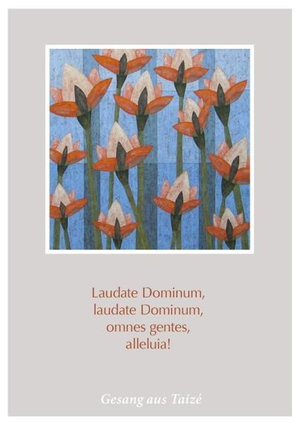 """Postkarte """"Laudate Dominum"""""""