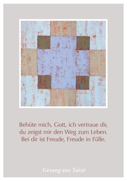 "Postkarte ""Behüte mich, Gott"""