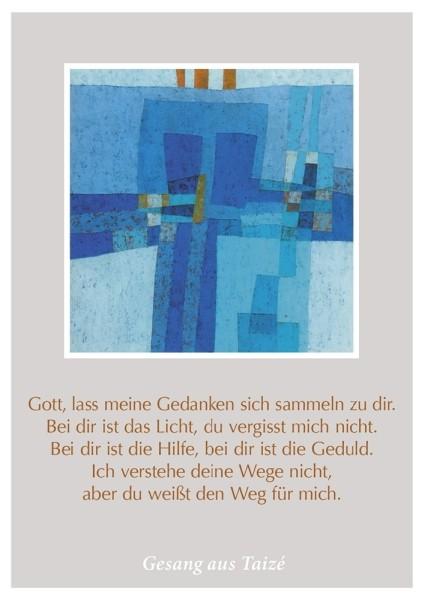 """Postkarte """"Aber du weißt den Weg"""""""