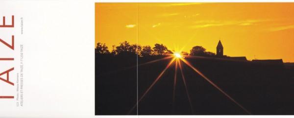 Sonne über Taizé