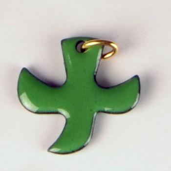 Kreuz/Taube grün (klein)