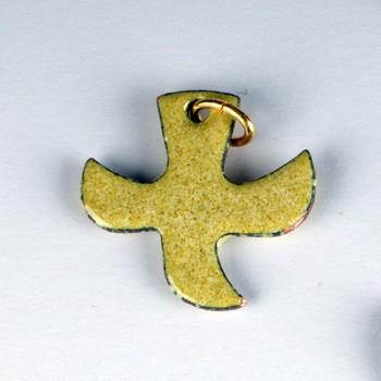 Kreuz/Taube sandfarben (klein)