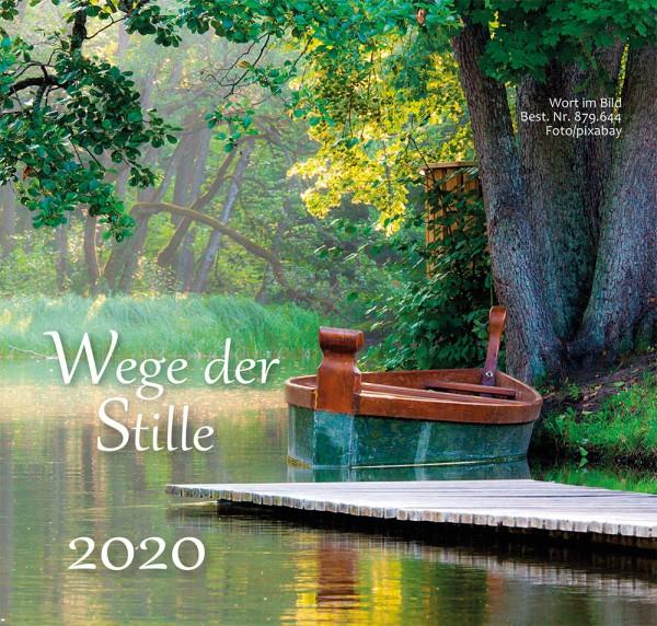 Tischkalender Wege der Stille 2020