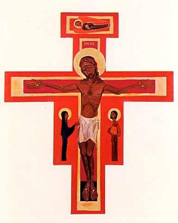 Kreuz-Ikone (groß) - dreiteilig